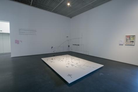 Alessandro Balteo-Yazbeck, Installation view atJameel Arts Centre, Dubai, 2018