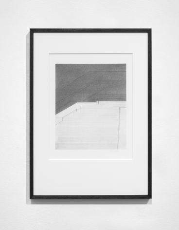Seher Shah, Foreign dust (Variation 9), 2019-2020, Graphite dust on paper, 55.9 x 38.1 cm