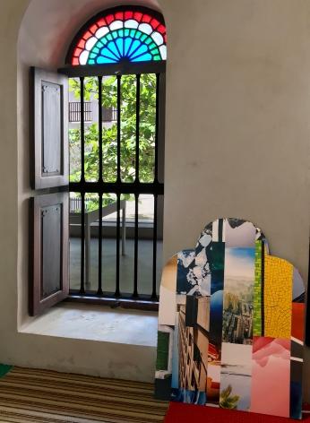 Alessandro Balteo-Yazbeck, Installation view atMaking New Time, Sharjah Biennial 14, Sharjah, UAE, 2019