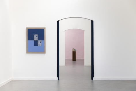 Lives of Forms: Kamrooz Aram & Iman Issa, Installation view at Z33 House for Contemporary Art, Design & Architecture