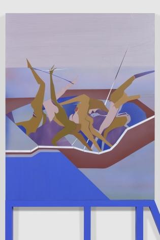 Maryam Hoseini,Modern Chaos (detail), 2020
