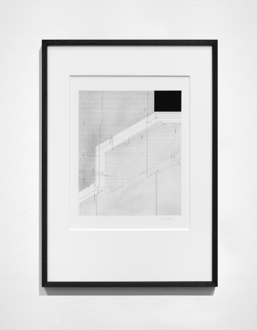 Seher Shah,Foreign dust (Variation 13), 2019-2020, Graphite dust on paper, 55.9 x 38.1 cm
