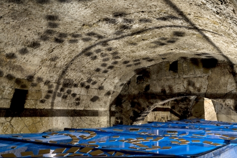 Hera Buyuktasçiyan,From There We Came Out and Saw the Stars,2018, Site-specific installation, Underneath the Arches, Naples, Italy