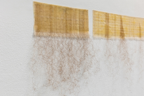 Afra Al Dhaheri,One at a Time (To Detangle Series) (detail), 2020
