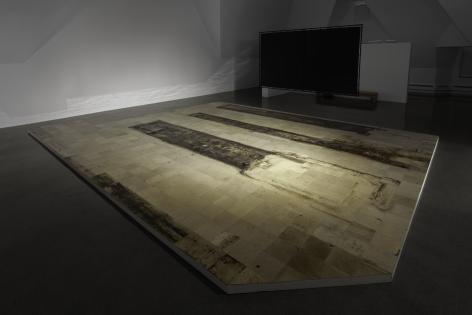Shadi Habib Allah,Put to Rights, Installation view at at The Renaissance Society, Chicago, 2018