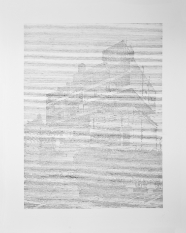 Seher Shah, Brutalist Traces (Kuwait Embassy-Tokyo), 2015