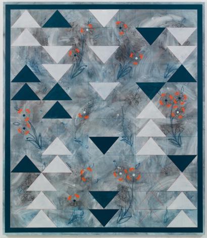 Kamrooz Aram, Ornamental Composition for Social Spaces 1, 2016