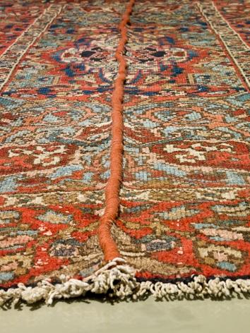 Nazgol Ansarinia, Mendings (carpet)(detail), 2010