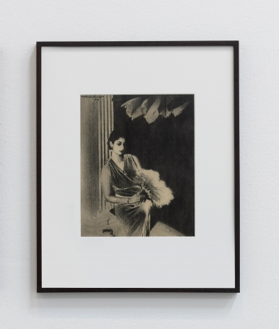 Lionel Wendt, Portrait from Memory, 1936, Solarised gelatin silver print, 52 x 42 x 2.5 cm
