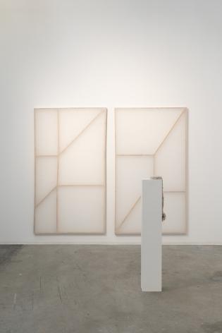 Afra Al Dhaheri,Split Ends, Installation view at Green Art Gallery, Dubai, 2021