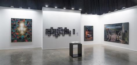 Installation view of Green Art Gallery at Art Dubai, 2013