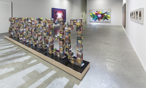 Modern Entanglements, Alessandro Balteo-Yazbeck, Installation view at Green Art Gallery, Dubai, 2015
