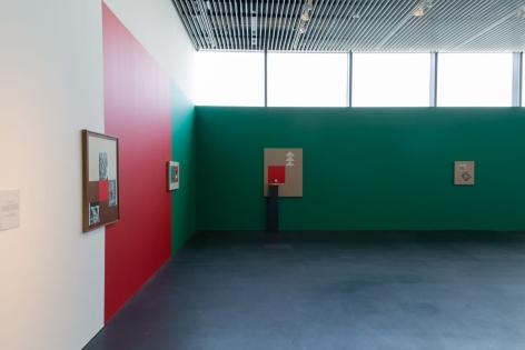 Kamrooz Aram,Installation view at Jameel Prize 5, Jameel Arts Centre, Dubai, 2019