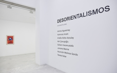 Installation view at Desorientalismos, Centro Andaluz de Arte Contemporáneo, Seville, Spain, 2020.