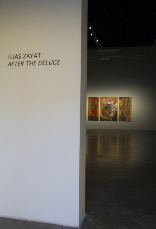 After the Deluge, Elias Zayat, Installation view at Green Art Gallery, Dubai, 2015