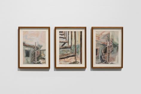 Afra Al Dhaheri, Spiral staircase No. 1, 2 & 3, 2020