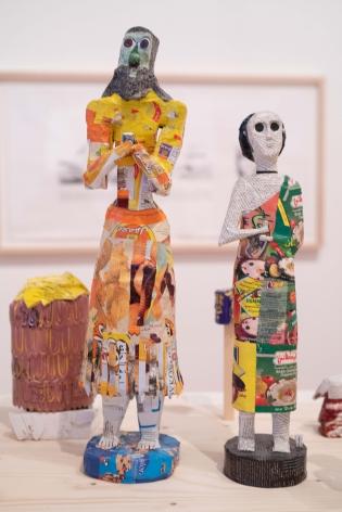 Michael Rakowitz, Installation view at Whitechapel Gallery, London, UK, 2019