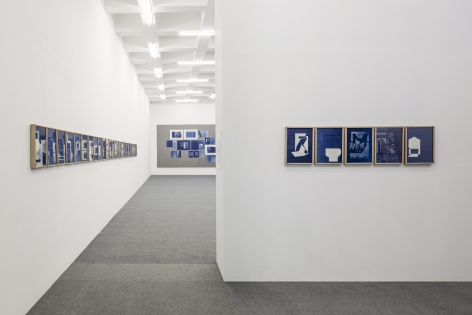 Seher Shah and Randhir Singh, Installation view atBearing Points