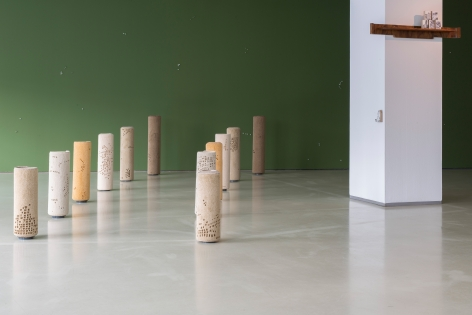HeraBüyüktaşçıyan, Neither on the Ground, nor in the Sky,, Installation view at IFA Berlin, Germany, 2019