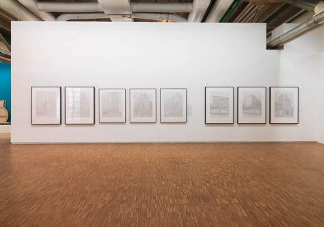 Seher Shah,Installation view atMémoires des futurs, Centre Pompidou,Paris, France, 2017