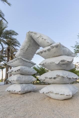 Afra Al Dhaheri,Pillow Fort Playground(نلعب بيت؟) (detail), 2021