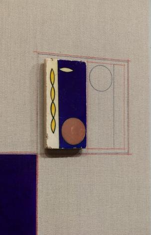 Kamrooz Aram, Blue Backdrop for Minor Arts (detail), 2018