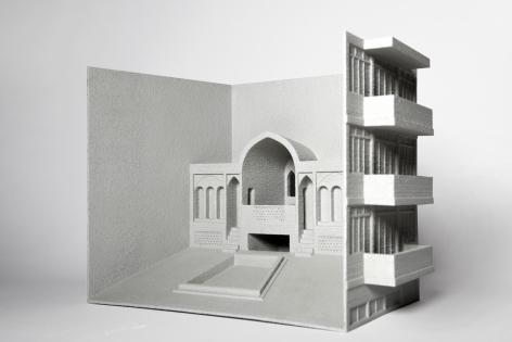 Nazgol Ansarinia in collaboration with Roozbeh Elias-Azar, Fabrications. Residential building / belvedere & garden