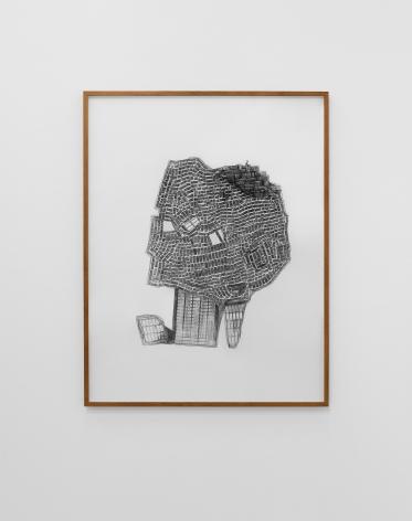 HeraBüyüktaşçıyan, Terrestrial I, 2019, Archival print, graphite on paper,142 x 109.5 cm