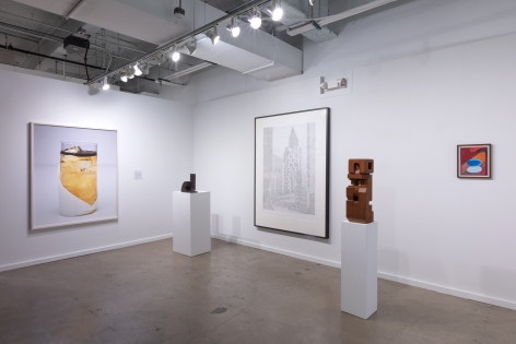 Installation view of Green Art Gallery, Dubai at Dallas Art Fair, 2019