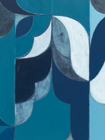 Kamrooz Aram,Untitled (Arabesque Composition) (detail), 2021