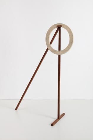 Ana Mazzei, One-eyed, 2020, Wood (peroba mica) and felt