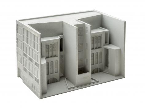 Nazgol Ansarinia In collaboration with Roozbeh Elias-Azar, Fabrications. Residential building: Shah-neshin and veranda