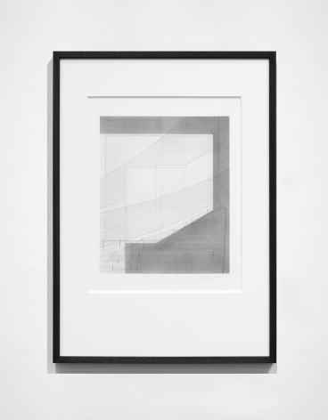 Seher Shah,Foreign dust (Variation 8), 2019-2020, Graphite dust on paper, 55.9 x 38.1 cm