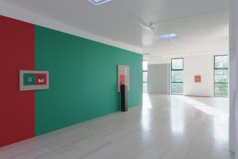 Ornament for Indifferent Architecture, Kamrooz Aram, Installation view atMuseum Dhondt-Dhaenens, Deurle, Belgium,2017