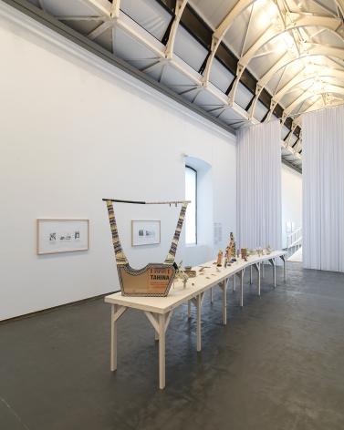 Michael Rakowitz. Imperfect Binding, Installation view at Castello di Rivoli Museo d'Arte Contemporanea, Turin, Italy, 2019