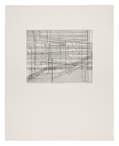 Seher Shah,Ruined Score, 2020, Etchings on Velin Arches 300 gsm paper, 50 x 40 cm