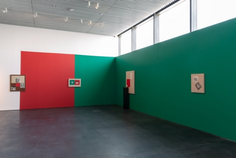 Kamrooz Aram, Installation view at Jameel Prize 5, Jameel Arts Centre, Dubai, 2019