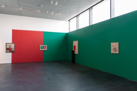 Kamrooz Aram, Installation view at Jameel Prize 5, Jameel Arts Centre, Dubai, 2019