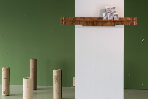 HeraBüyüktaşçıyan,Neither on the Ground, nor in the Sky,, Installation view at IFA Berlin, Germany, 2019