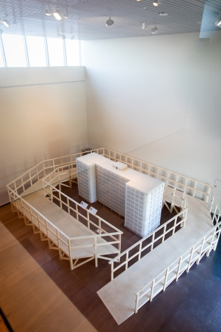 Michael Rakowitz, Dull Roar, 2005, Installation view at Jameel Arts Centre, Dubai, UAE, 2020