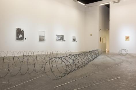 Remnants, Installation view at Green Art Gallery, Dubai, 2018
