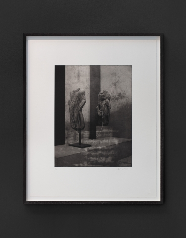 Seher Shah,Argument from Silence (fragments and bodies), 2019, Polymer photogravures on Velin Arches paper