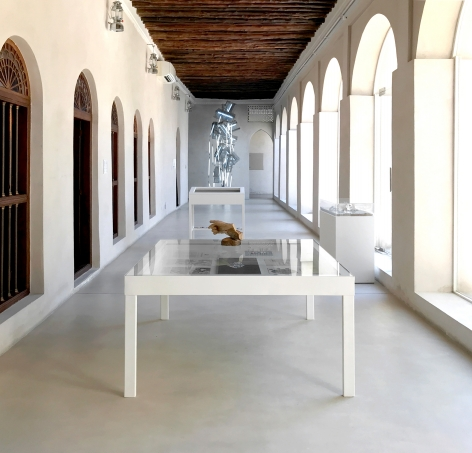 Alessandro Balteo-Yazbeck, Installation view at Making New Time, Sharjah Biennial 14, Sharjah, UAE, 2019