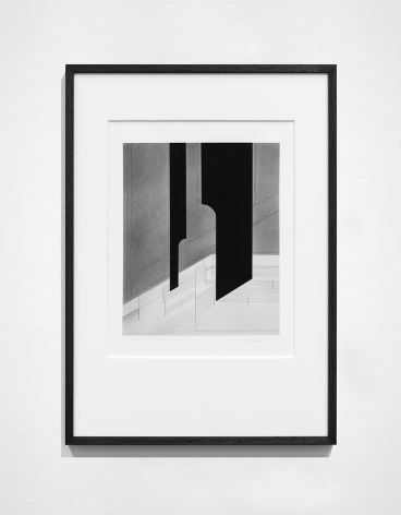 Seher Shah,Foreign dust (Variation 15), 2019-2020, Graphite dust on paper, 55.9 x 38.1 cm