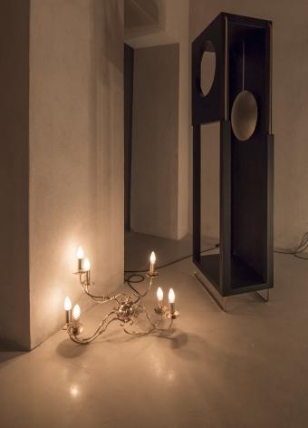 Shadi Habib Allah, Installation view atTamawuj, Sharjah Biennial 13,Sharjah, UAE, 2017