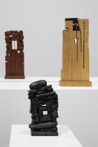 Chaouki Choukini, Installation view at Green Art Gallery, Dubai, 2019