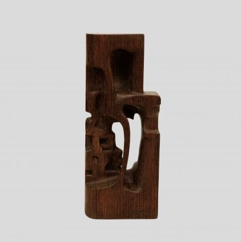 Chaouki Choukini, Sans titre (Untitled), 1978, Bois, Approx. 35 cm