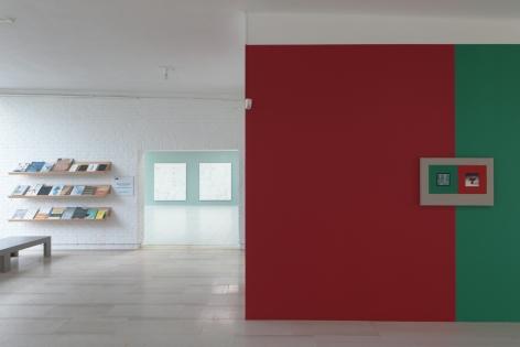 Ornament for Indifferent Architecture,Kamrooz Aram, Installation view atMuseum Dhondt-Dhaenens, Deurle, Belgium,2017