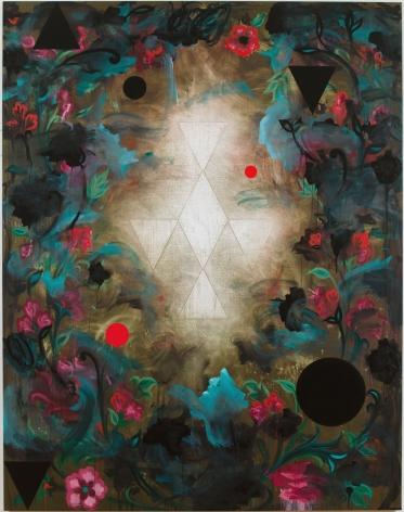 Kamrooz Aram, Untitled (Angelus Novus), 2013, Oil on canvas, 213 x 168 cm