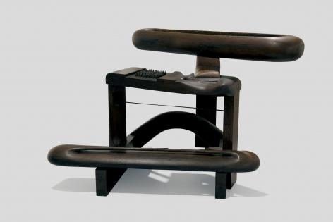 Chaouki Choukini,Piano, 1978 - 1979, Wangué/Wenge, 103 x 144 x 143 cm